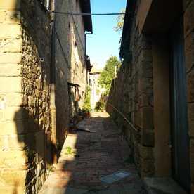 Toscana: Monticchiello e la Val D'Orcia