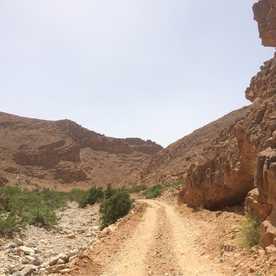 Marokko on a sunny day